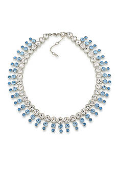Carolee Something Blue Statement Collar Necklace