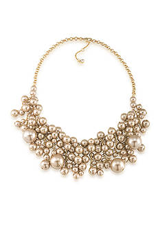 Carolee Union Square Statement Frontal Drop Necklace