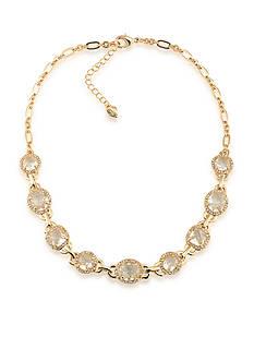 Carolee Gold-Tone Columbus Circle Collar Necklace
