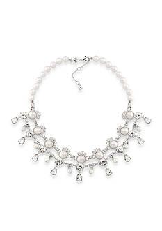 Carolee Silver-Tone Waldorf Statement Necklace