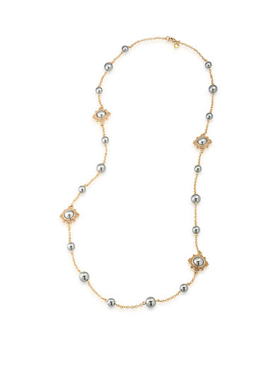 Carolee Gold-Tone West Side Layered Necklace