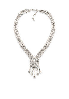 Carolee Silver-Tone East Side Y Necklace