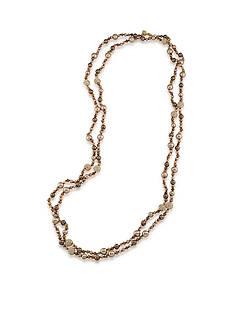Carolee Gold-Tone Metropolitan Club Rope Necklace