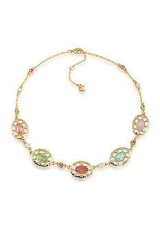 Carolee Gold-Tone Cosmopolitan Club Illusion Necklace