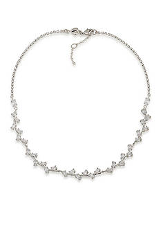 Carolee Silver-Tone Something Borrowed Collar Necklace