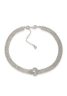 Carolee Silver-Tone Something Borrowed Choker Necklace