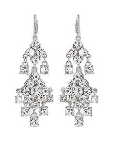Carolee Broadway Lights Chandelier Pierced Earrings