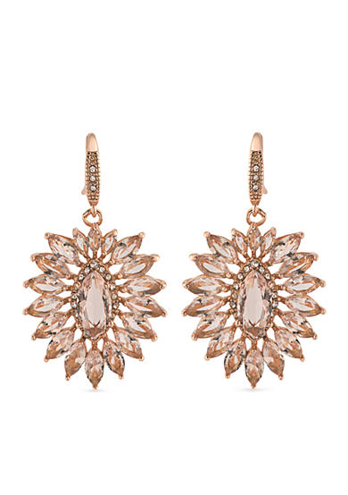 Carolee Pocket Park Cluster Drop Earrings