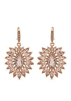 Carolee Pocket Park Cluster Drop Earrings