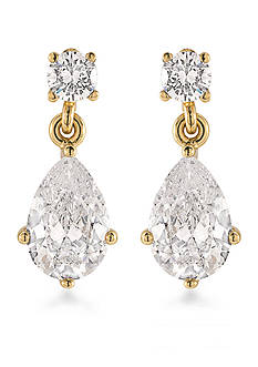 Carolee Gold-Tone The Apollo Pear Drop Earrings