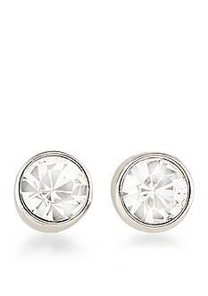 Carolee Silver-Tone East Side Stud Earrings