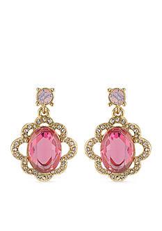 Carolee Feminine And Elegant Double Drop Earrings