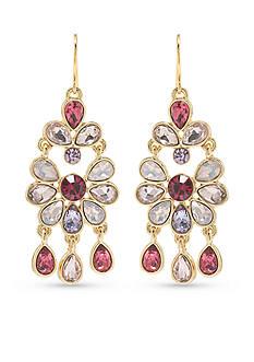 Carolee Feminine Mini Chandelier Earrings