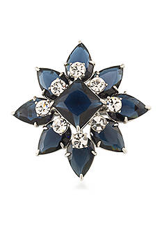 Carolee Silver-Tone New York Star Pin