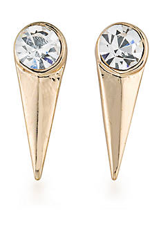 Carolee Gold-Tone Spike Earrings