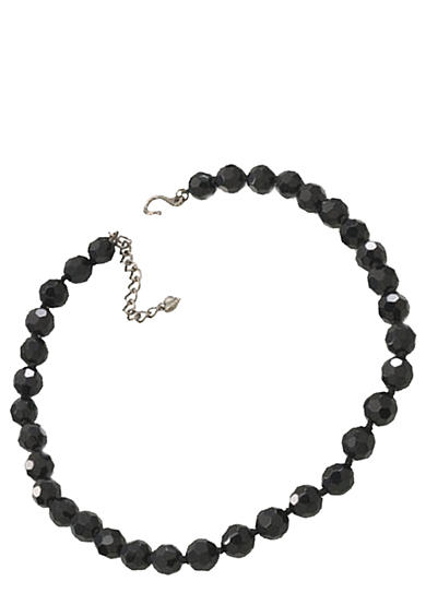 Carolee 10-mm. Faceted Jet Bead Necklace