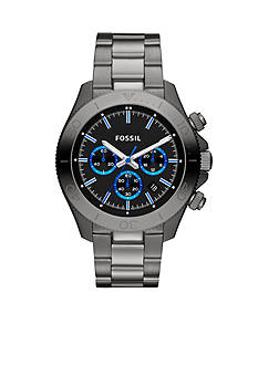 Fossil® Men's Smoke Retro Traveler