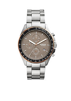 Fossil® Men's Sport 54 Stainless Steel Watch
