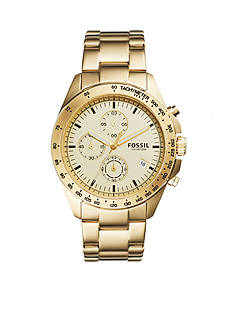 Fossil Men's Sport 54 Gold-Tone Stainless Steel Watch