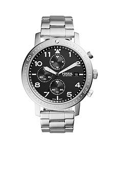Fossil® The Major Chronograph Timer Stainless Steel Watch