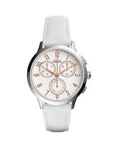 Fossil® Abilene Sport Chronograph Leather Watch