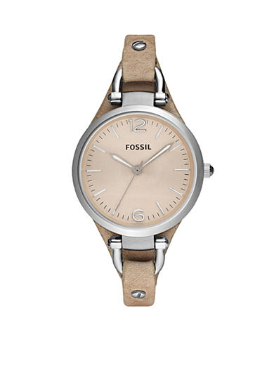 Fossil® Georgia Women's Sand Leather Watch