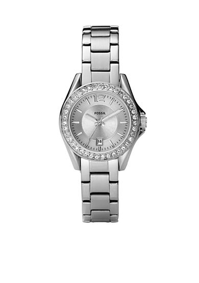 Fossil® Riley Mini Stainless Steel Watch