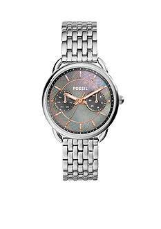 Fossil Women's Tailor Stainless Steel Multi Function Watch