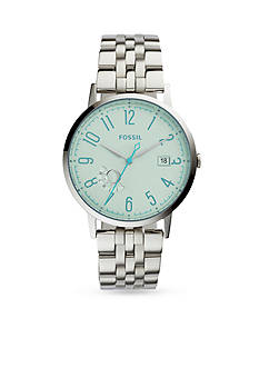 Fossil® Women's Vintage Muse Stainless Steel Bracelet and Tinted Crystal Three-Hand Watch