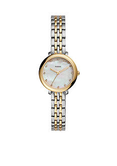 Fossil Jacqueline Mini Three-Hand Stainless Steel Watch