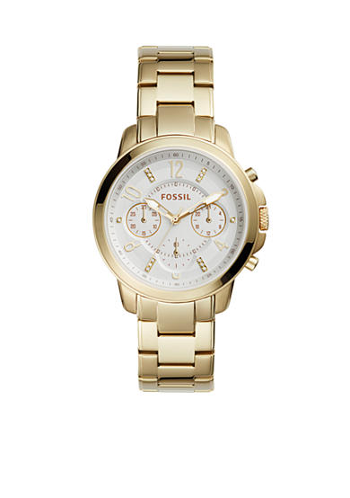 Fossil® Women's Gwynn Chronograph Stainless Steel Watch