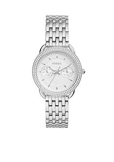Fossil® Women's Tailor Multifunction Stainless Steel Watch