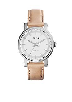 Fossil Women's Original Boyfriend Three-Hand Leather Watch