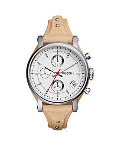 Fossil Original Boyfriend Sport Chronograph Leather Watch