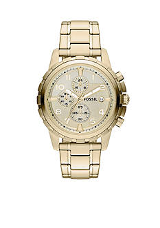 Fossil® Men's Gold Tone Chronograph Dean Watch