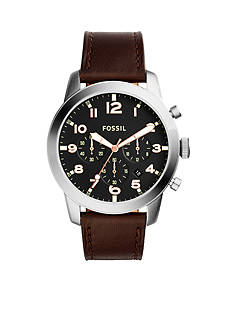 Fossil® Men's Pilot 54 Stainless Steel Chronograph Watch