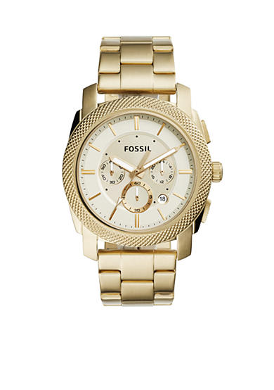 Fossil® Men's Stainless Steel Gold-Tone Machine Watch