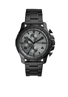 Fossil Men's Dean Chronograph Black Watch