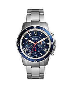 Fossil Grant Sport Chronograph Stainless Steel Watch