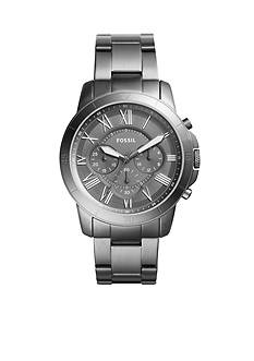 Fossil Grant Sport Chronograph Smoke Stainless Steel Watch
