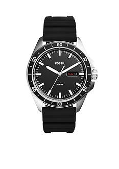 Fossil® Men's Sport 54 Three-Hand-Date Silicone Watch