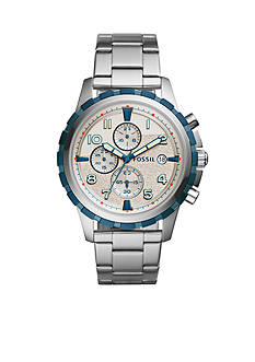 Fossil® Dean Chronograph Stainless Steel Watch