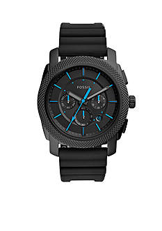 Fossil Machine Chronograph Silicone Watch