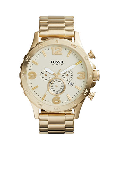 Fossil® Men's Gold-tone Chronograph Watch