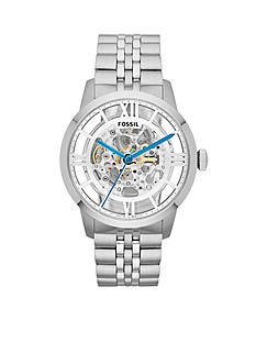 Fossil® Men's Stainless Steel Townsman Automatic Watch