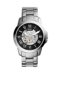 Fossil® Grant Stainless Steel Mechanical Watch