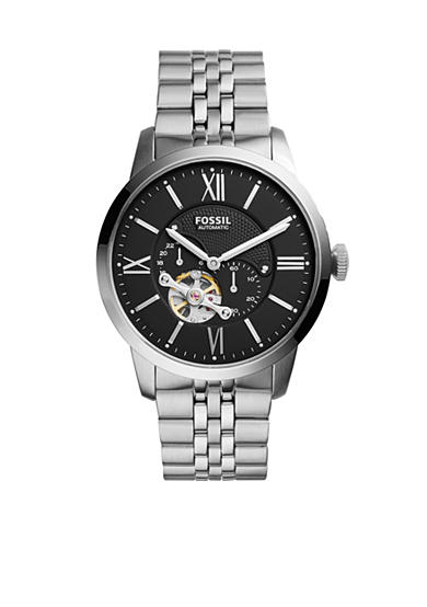 Fossil® Townsman Stainless Steel Automatic Watch