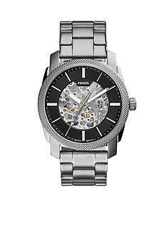 Fossil® Men's Machine Stainless Steel Automatic Watch
