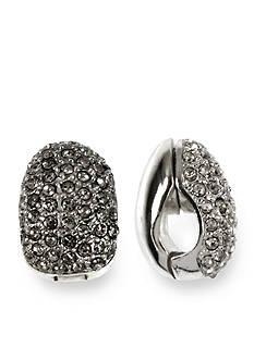 Anne Klein Crystal Magnetic Earring
