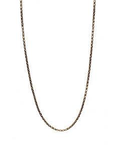 Anne Klein Long Tubular Necklace